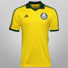 Camisa verde e amarela do Palmeiras já está em pré-venda ae8455a4711d1
