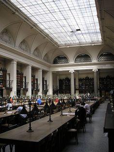 Vienna University Library, main reading room