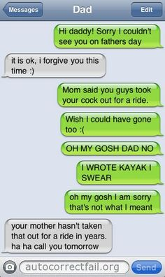 Random | Autocorrect Fail - Hilarious Auto Correct blunders and funny texts from your mobile phone!