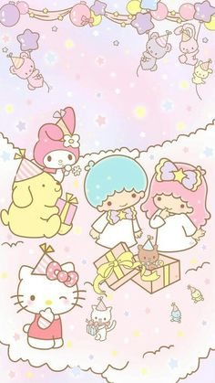 Hello Kitty ♡ Little Twin Stars ☆☆
