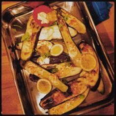 Mine matskriblerier: Grillede grønnsaker med chevre