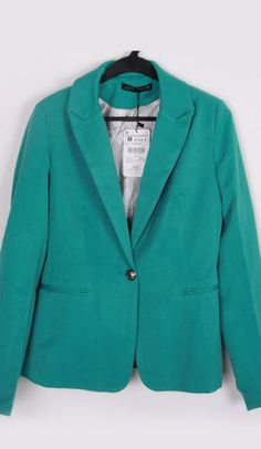 candy color wild suit jacket Light green