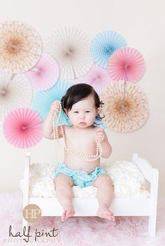 First Birthday Girl Photo Shoot vintage pearls pink baby www.halfpintphotos.com Girl Photo Shoots, Girl Photos, Birthday Photos, Birthday Ideas, Half Pint, Girl First Birthday, Vintage Pearls, Baby Love, First Birthdays