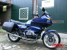 Classic BMW R100.