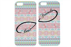 Pastel Aztec Best Friends Phone Case