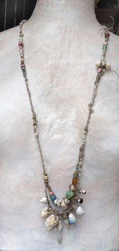 Artisan Necklace /Bracelet by greybirdstudio on Etsy