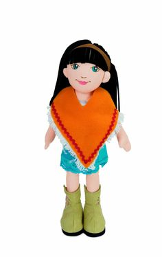 "Manhattan Toy Meet Astrid, A Lilydoll is a Classic Doll For Your Timeless Girl 18"" Soft Doll"