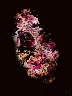 Color Face 06 by Eric Lapierre