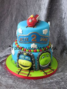 Chuggington Train Cake My Cakes Pinterest Cake - Chuggington birthday cake