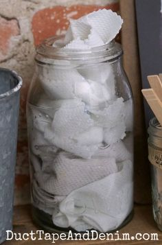 how to make diy homemade dryer sheets