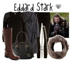 """""""Eddard 'Ned' Stark -- Game of Thrones"""" by evil-laugh ❤ liked on Polyvore featuring Dorothy Perkins, H&M, True Decadence, Oasis and ALDO"""
