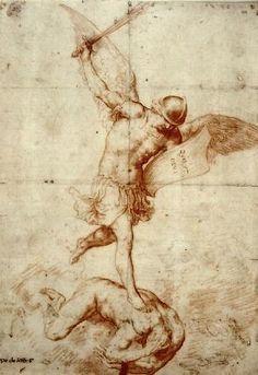 Jusepe de Ribera  Saint Michael the Archangel Vanquishing the Devil (1626-30)  Museo de Bellas Artes de Córdoba, Spain