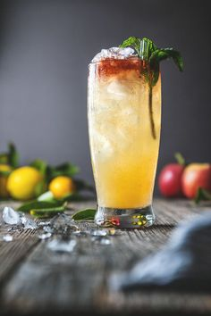 Village to Village Cocktail | HonestlyYUM