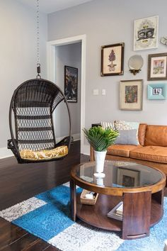 Living Room Decorating Ideas - Home Design Photos | Whether it's with wall paint or gallery walls, velvet sofas or flashy textiles, these rooms are designed to inspire.
