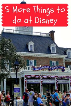 """Epcot is my very favorite theme park and such a fun place to visit for entertainment and out of this world eats! America features a great presentation about our nation chronicled by animatronic American Presidents and don't miss hearing the musical sensation """"Voices of Liberty""""."""