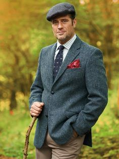 Harris Tweed: in Gaelic, it is known as Clo Mor, the big cloth. We are in danger of forgetting how warm these garments are.