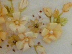 cute Silk Ribbon Embroidery Tutorial - Loop Flower