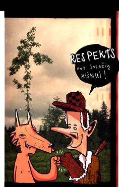 RESPECT to the forest postcard 1