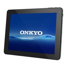 The Onkyo SlatePad TA09C-B41R3 is an Android 4.1 tablet featuring a high-resolution, 9.7-inch touchscreen, a dual-core 1.6GHz Rockchip processor, and a Mini HDMI jack for video out. Availability date: Mar. 8, 2013