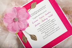 with dupioni silk and silk flower   Join us in a workshop to demonstrate how to make your own wedding invitation http://www.uniquelyyoursweddinginvitation.com/creativity-workshops/
