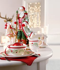 Fitz and Floyd Winter White Holiday Place Setting #belk #home
