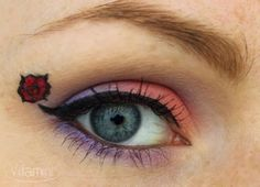 CereCere (Sailor Moon) inspired make up by http://vitaminbeauty.blogspot.de/2013/11/amu-cerecere.html