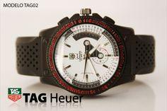 5cebdf98dbb4 Reloj TAG caballero negro
