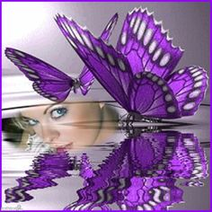 Hearty - Purple Butterfly... click to add your own photo to this. It's from Imikimi, a free site that lets you add photos to cool collages and frames. #purple #violet #butterfly #beauty
