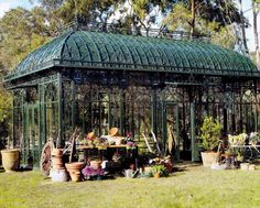 Conservatory Greenhouse | The beautiful buy-off-the-shelf conservatories of Going Going Green ...