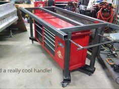 Glamorous Steel Welding Table Plans Of Welding Bench, Welding Table Diy, Welding Cart, Welding Shop, Welding Jobs, Metal Welding, Metal Projects, Welding Projects, Welding Ideas
