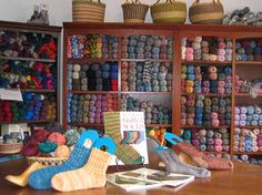 One my favorite yarn stores - great selection