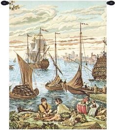 Barconi Tapestry Wall Art Hanging