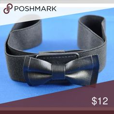 Kohl's Belt Solid Black Kohl's Accessories Belts