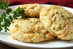 Cheddar Bay Almond Flour Biscuits