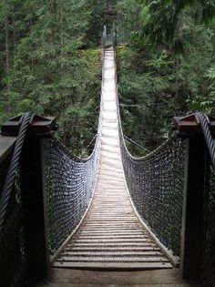 Lynn Canyon Suspension Bridge - North Vancouver, B.C.