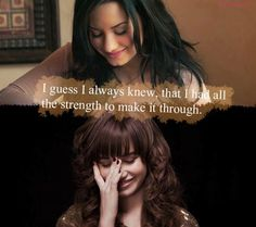 Demetria Devonne Lovato. Words cannot explain how inspirational this beautiful girl is. She is so amazing, she's been through so much and yet she comes back fighting like a Skyscraper. She's such a flawless person with an extraordinary story. Her story prevented millions of people from committing suicide. I love you Demi, words can't describe how perfect you are to me. ♡