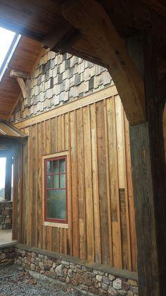 Reclaimed Hardwood Barn Wood