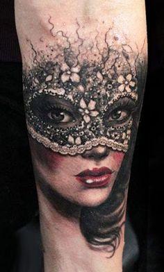 Tattoo Artist - Anabi Tattoo - Mask