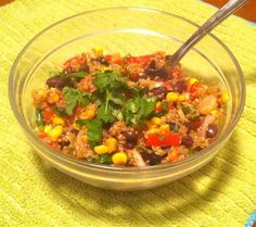 Southwestern Quinoa - My Life Well Loved