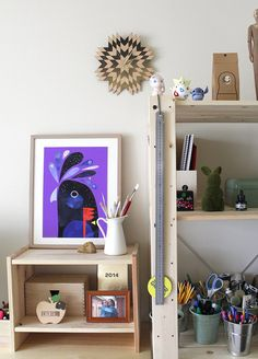 Check out the stunning modern and colourful art from Melbourne artist Pete Cromer. It's like nothing I've ever seen before. Floating Nightstand, Floating Shelves, Nz Art, Cromer, Cool Artwork, Amazing Artwork, Meet The Artist, Bird Art, Interiores Design