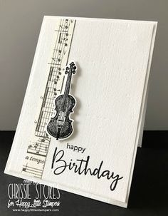 Simply One of a Kind: Musical birthday Musical Birthday Cards, Musical Cards, Birthday Cards For Men, Handmade Birthday Cards, Greeting Cards Handmade, Birthday Music, Male Birthday, Masculine Birthday Cards, Masculine Cards