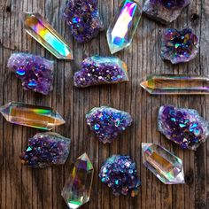 "Small Business WEEKEND SALE (until Tuesday) ❤️️ Here's the deal babes:  Use Coupon Code- ""SMALLBIZ20"" & Everyone who makes an order in my shop this week will get 20% off AND receive a special Angel Aura Quartz Wand or Aura Amethyst cluster in their package chosen at random! ✨ SHOP LINK IN BIO ❤️️ Support handmade & small biz this season, whether it's with me or another badass small biz~ it's so much better to support real people who are passionate and hardworking artists!!"