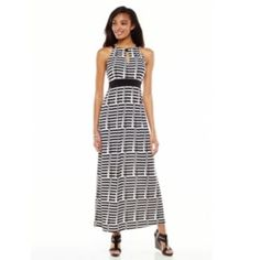 Apt. 9 Print Maxi Dress - Women's