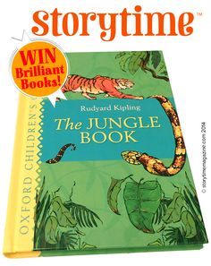 Win The Jungle Book with Storytime Issue 5! ~ STORYTIMEMAGAZINE.COM