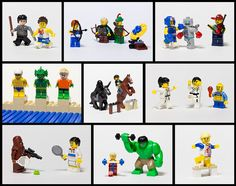LEGO Minifig Olympics 2012 by pong0814, via Flickr