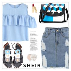 """Shein 1/I"" by mirelaaljic ❤ liked on Polyvore featuring Fresh, casualoutfit, summerstyle and summerfashion"