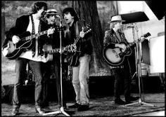 Jeff Lynne, Bob Dylan, George Harrison & Tom Petty | Traveling Wilburys