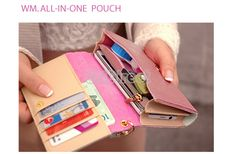 Envelope Wallet Card Purse Case Cover For Samsung Galaxy S2 S3 Iphone 4S 5 S0BZ