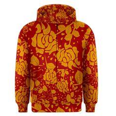 Floral+Wallpaper+Hot+Red+Men's+Zipper+Hoodies Men's Fashion, Zipper, Hoodies, Wallpaper, Hot, Floral, Sweaters, Moda Masculina, Mens Fashion