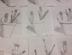 Fourth Grade Sketching - Art Teacher in LA